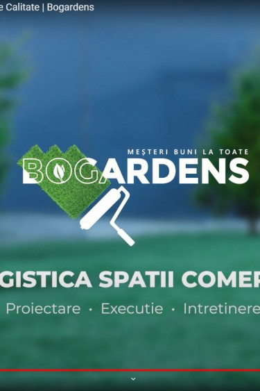 video prezentare servicii peisagistica Bogardens