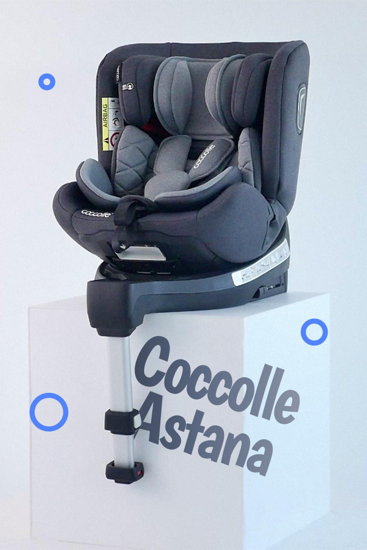 Video prezentare Scaun Auto Coccolle Astana