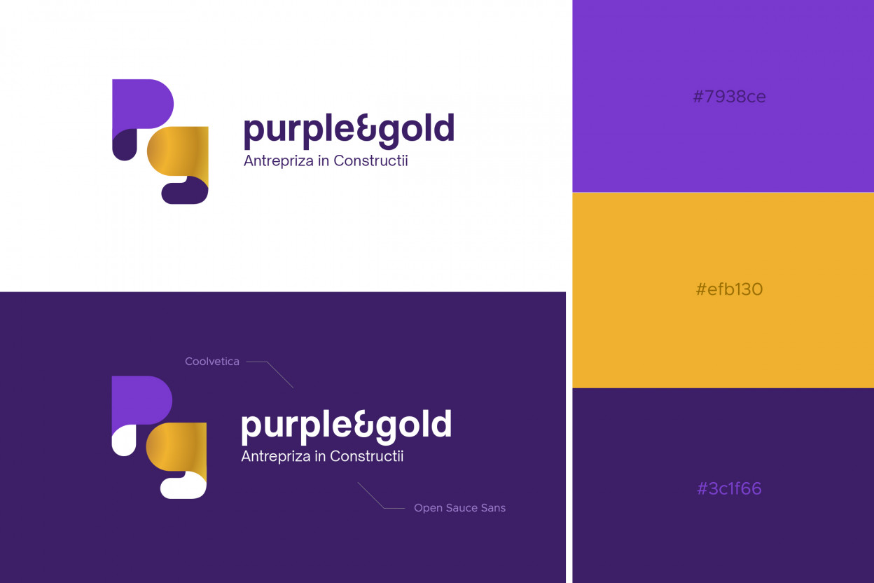 Logo Purple and Gold