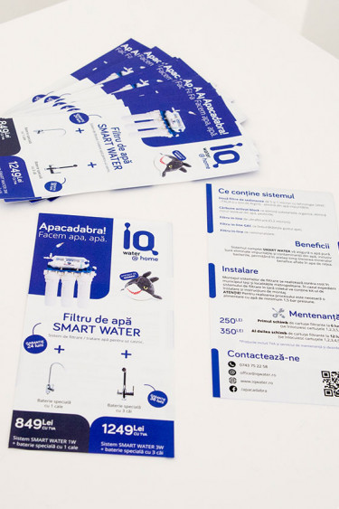 Iq Water at Home Flyer DL