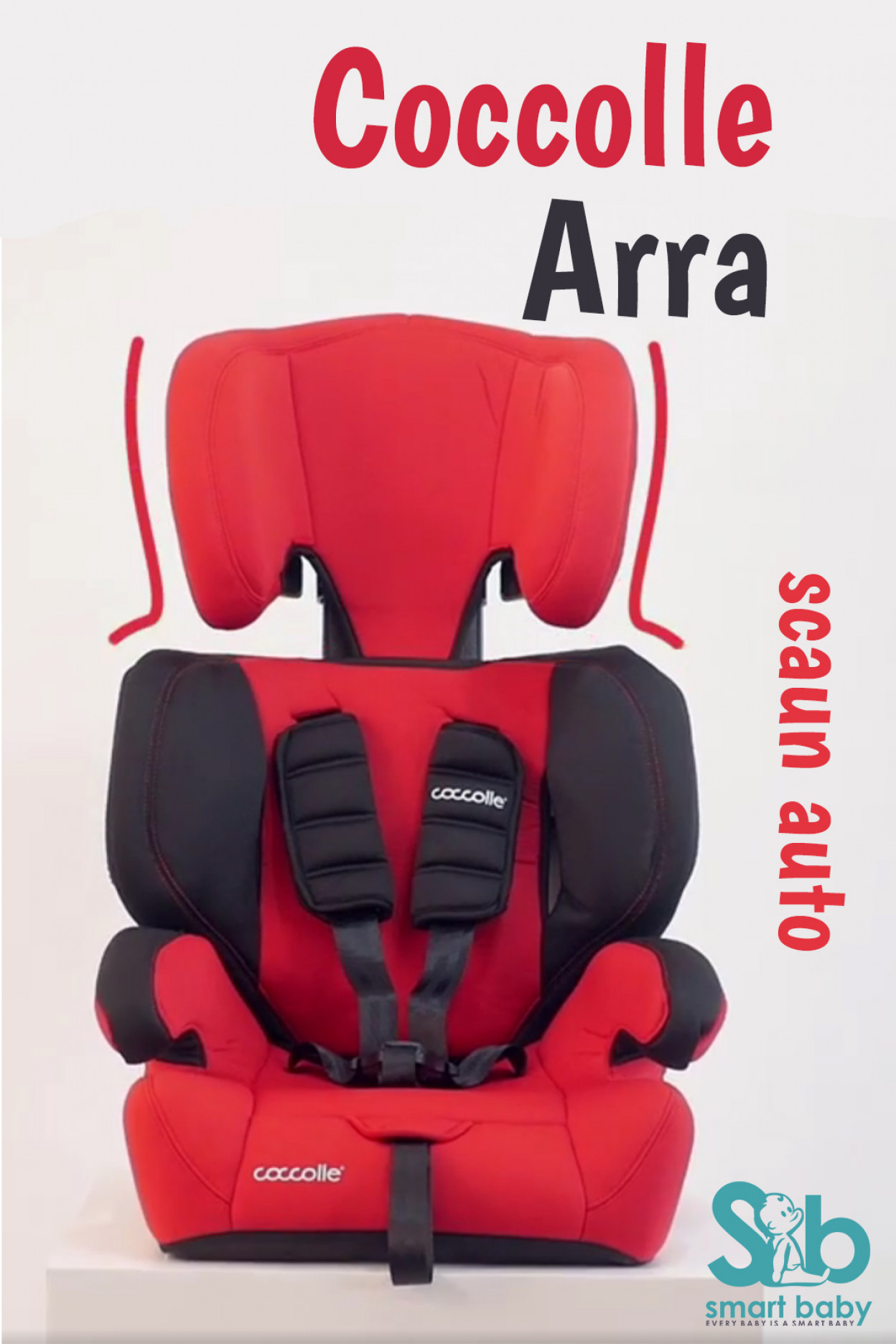 Video prezentare scaun auto Coccolle Arra