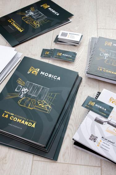 Identitate Brand Mobica Concept
