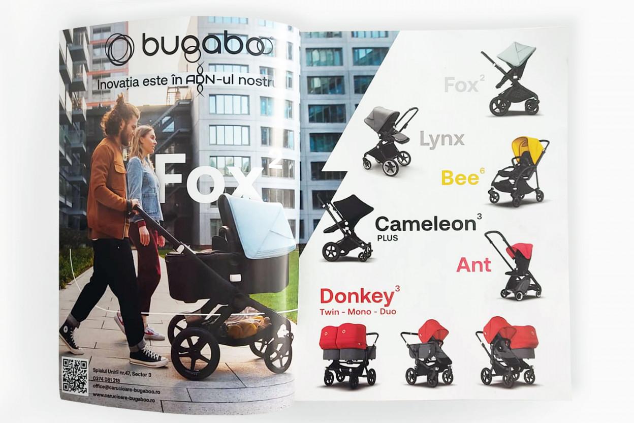 Realizare vizual Bugaboo pentru revista FPM