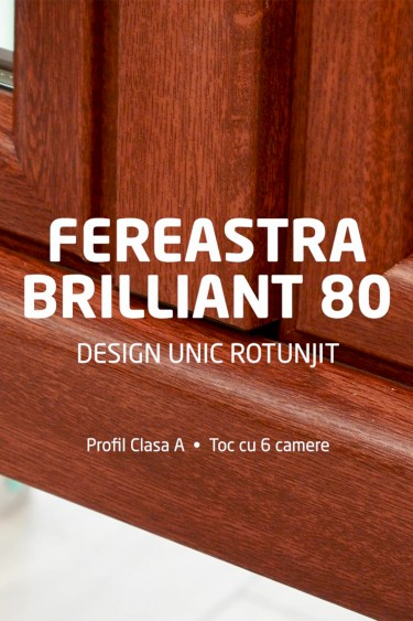 fereastra TRP Brilliant 80